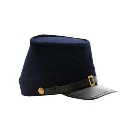SZCO Supplies Blue Union Civil War Kepi (Large) Civil War Union Kepi