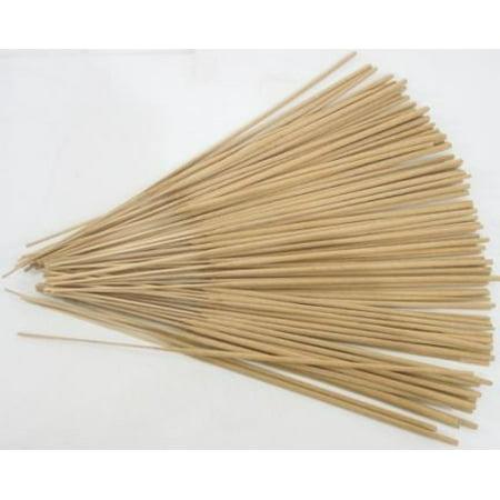 Charcoal Incense Sticks (Unscented Incense Sticks, 100 Sticks)
