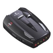 Cobra 9 Band 360° Police Car Radar Laser Detector w/ Traffic Alerts | ESD-7100