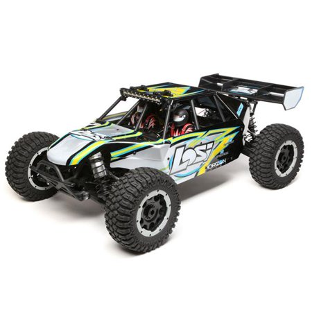 Team Losi Buggy - Losi 05012T1 1:5 Desert Buggy XL-E 4wd Electric RTR Black/Yellow