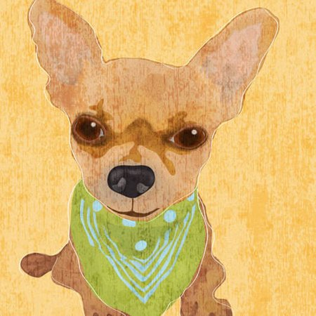 Oopsy Daisy - Barkley & Wagz - Chihuahua Canvas Wall Art 14x14, Julie Blut - Julie Ann Art Halloween Costumes