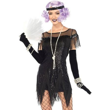 Leg Avenue Adult Foxtrot Flirt 2-Piece - Major Flirt Costume