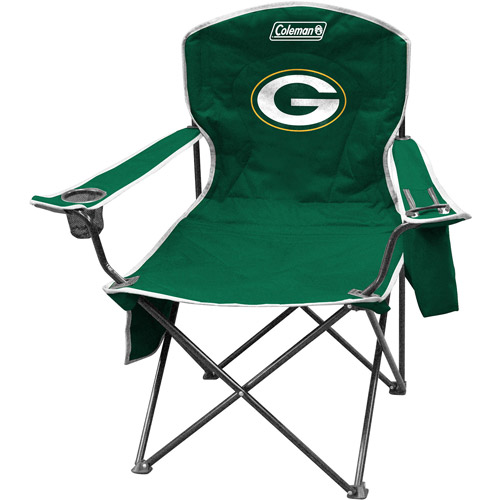 Coleman Green Bay Packers Cooler Quad Chair