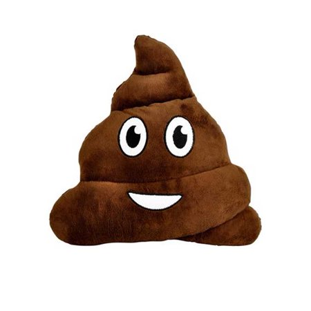 Emoji Poop Pillow Poo Shape Plush Cushion Cell Phone Emoticon Toy Text Message