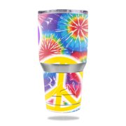 MightySkins Protective Vinyl Skin Decal for Ozark Trail 30 oz Tumbler wrap cover sticker skins Peaceful Explosion