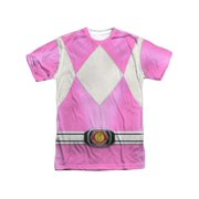 Power Rangers - Pink Ranger (Front/Back Print) - Short Sleeve Shirt - Large