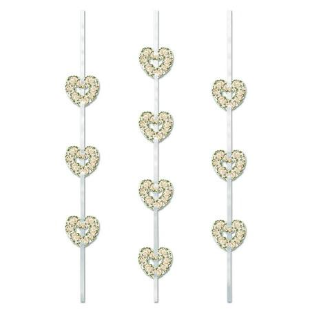 Heart Ribbon Stringers (Pack of 12) - image 1 de 1