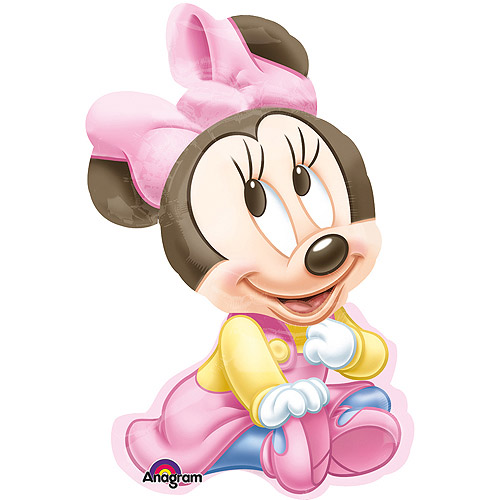 Baby Minnie Shaped Balloon, 33""