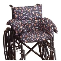 Pressure Reducing Chair Cushion  Comfort Cushion Seat Pad for Wheelchair, Arm Chair, Patio Chair  Machine Wash Polyester/Cotton  Butterfly Pattern