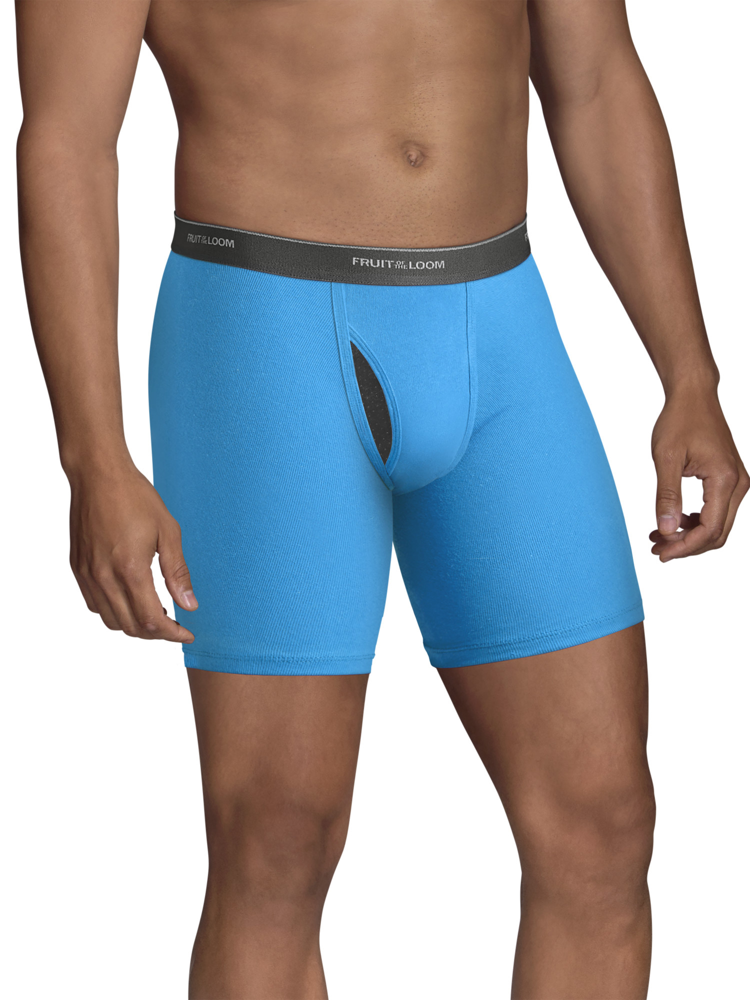 Men's CoolZone Fly Dual Defense Assorted Boxer Briefs, 5 Pack