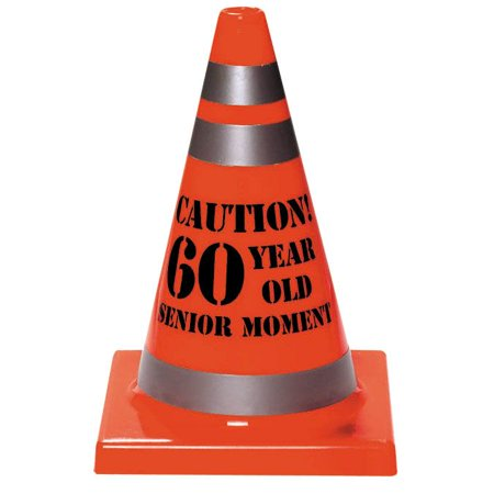 60 Year Old Senior Moment Cone - Party Supplies (9 Year Old Halloween Party Ideas)