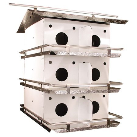 Birds Choice Coates Original Purple Martin Bird House Aluminum Purple Martin House