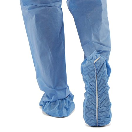 Medline Shoe Cover (Medline Shoe Cover, Non-Skid, Multi-Layer, X-Large, Blue, NON28859,)