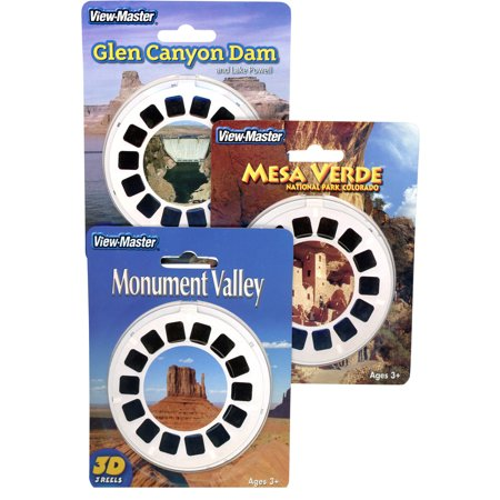 Glen Canyon- Mesa Verde- Monument Valley- Triple Vintage ViewMaster Set -9 - Mesa Boogie Triple Rectifier
