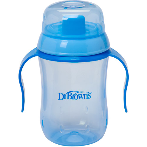 Dr. Brown's 9-oz Hard Spout Training Cup, BPA-Free