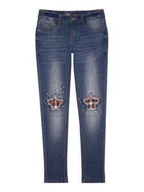 Lee Jeans Plaid Star Skinny Jeans(Little Girls & Big Girls)