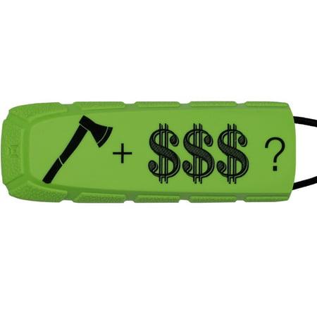 Smart Parts Barrel Condom (Exalt Paintball Bayonet Barrel Condom / Cover - LE Axe + Cash - Lime /)
