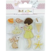 Trimcraft Belle & Boo II Clear Stamps-Ice Cream