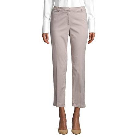 Classic Cotton Blend Pants Cashmere Blend Pants