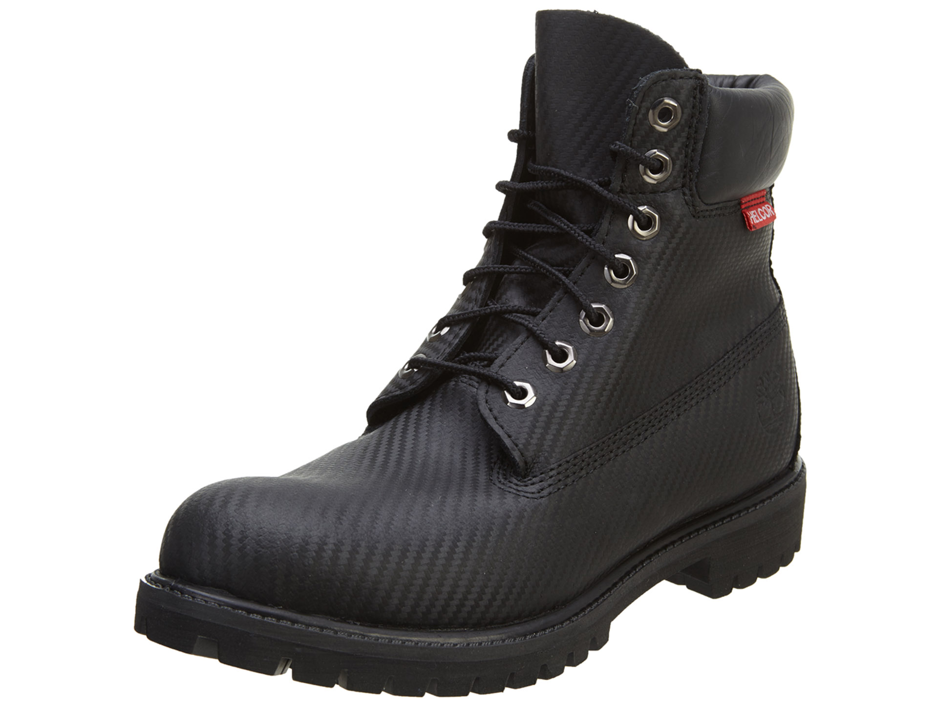 Timberland Icon 6-Inch Premium Helcor Waterproof Black Mens Boot 6605A Size 13 by Timberland