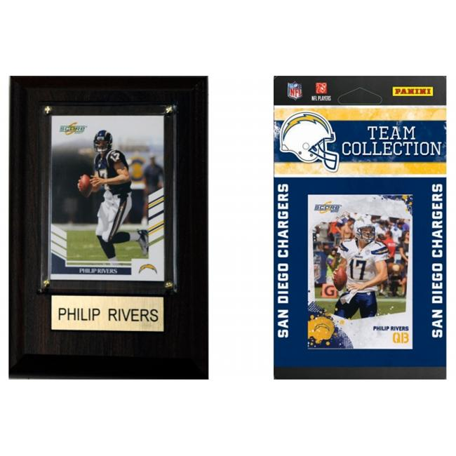 C & I Collectables CHARGERSFP NFL San Diego Chargers Fan Pack