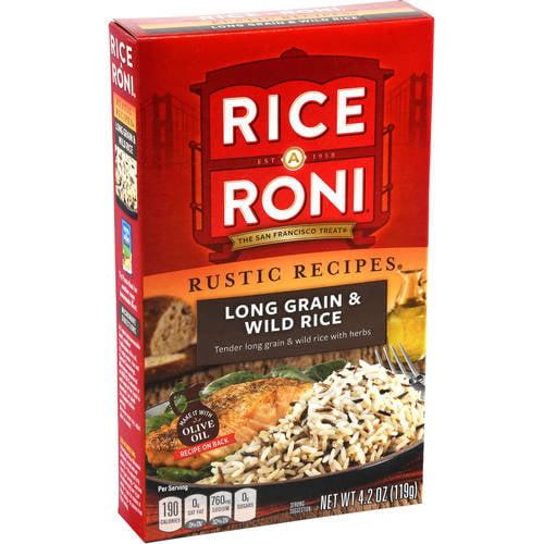 Rice-A-Roni Long Grain & Wild Rice Rice Mix, 4.2 oz