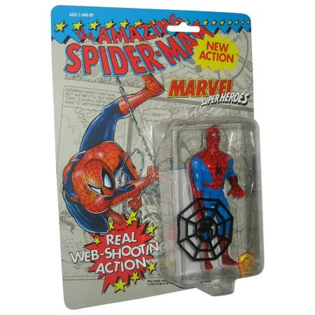 - Marvel Comics The Amazing Spider-Man Web Shooting Toy Biz Figure
