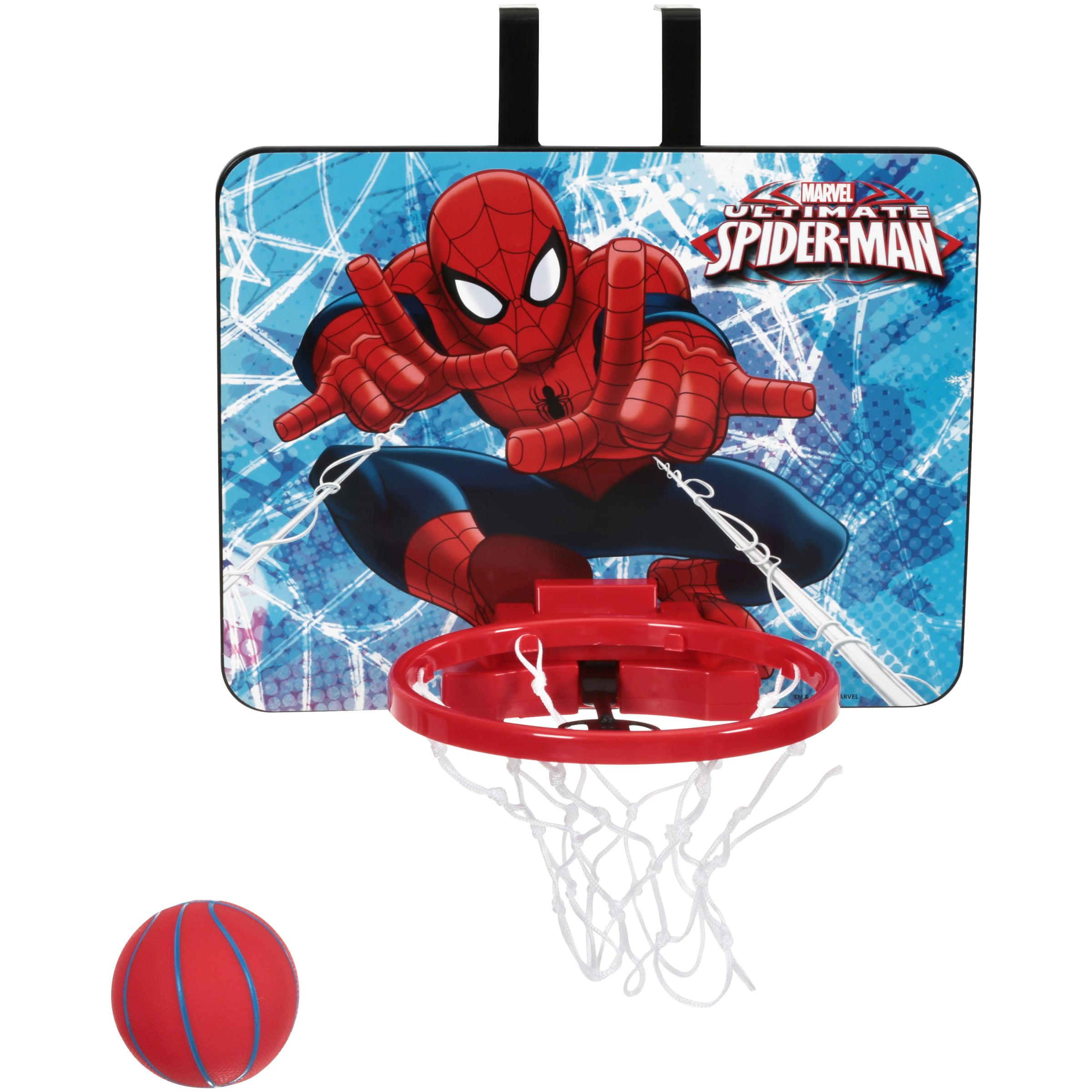 Marvel Ultimate Spider-Man Ultimate Spider-Man Webbed Wonder Basketball Set