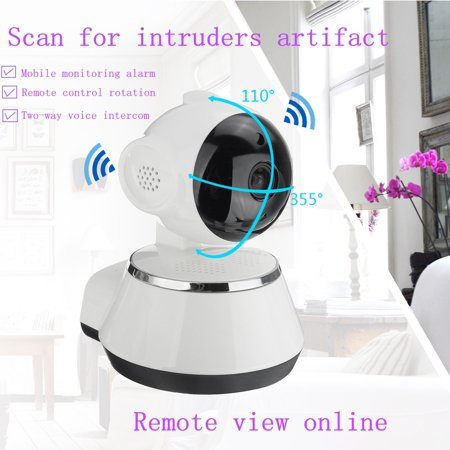 720P HD Security Cameras Home Video Security Camera System Day Night View Cameras CCTV IP Surveillance Kit Wireless Pan Tilt WIFI  - image 3 of 17