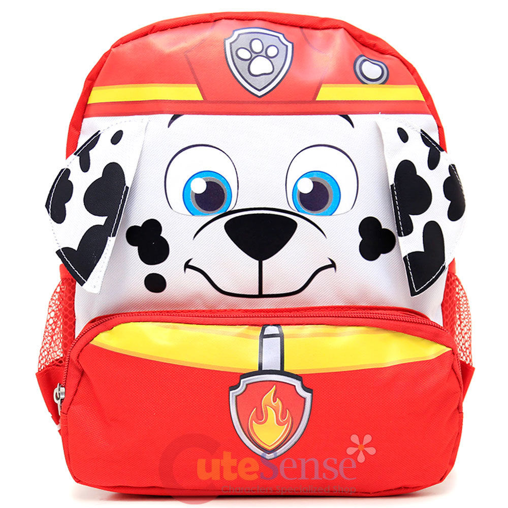 Red Colored Paw Patrol Small Children's Backpack (12in)