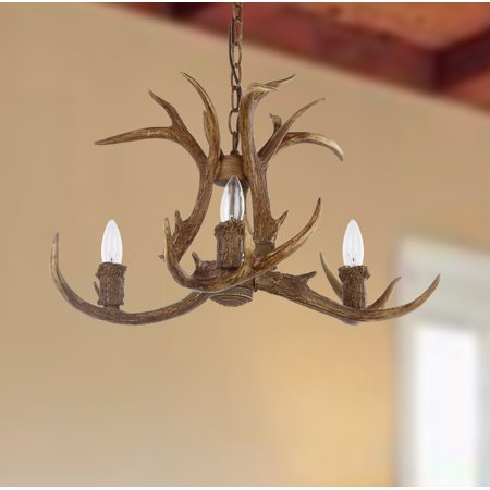 Reproduction Antler Chandeliers (Safavieh Makani 21.5-Inch Dia. Antler Chandelier,)