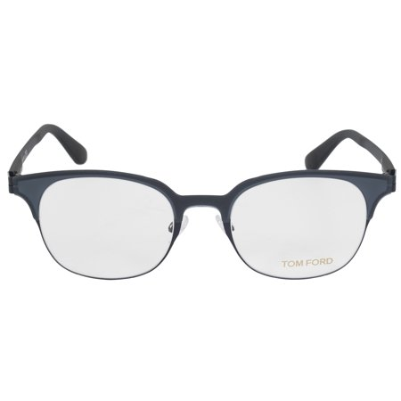 Tom Ford FT5347 89 Square | Matte Grey| Eyeglass (Square Eyeglass Frames)