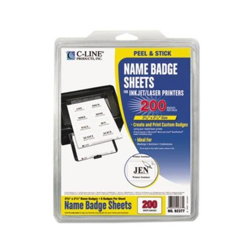 C-Line Printer Name Badge CLI92377