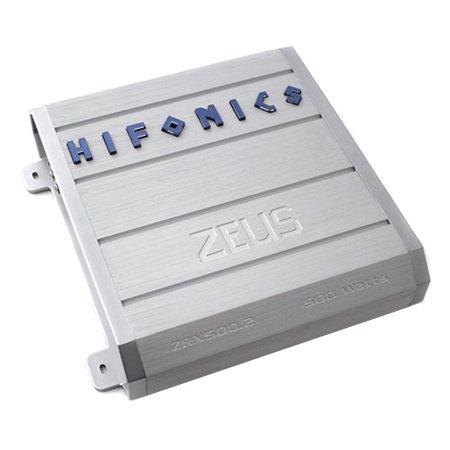 New Hifonics ZEUS ZRX500 2 500W 2 Channel Car Amplifier Power Stereo Amp  ZRX5002