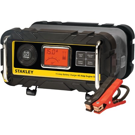 Stanley 15A Battery Charger With 40A Engine Start