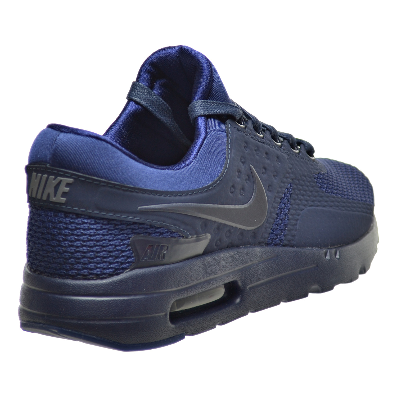 nike air max zero qs mens shoes binary blue obsidian blue fox 789695 .