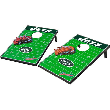 Wild Sports NFL New York Jets 2x3 Field Tailgate Toss
