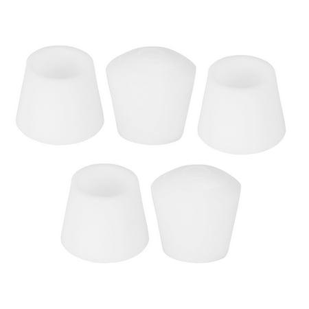 Rubber Leg Cap End Tip Furniture Table Feet Protector 10mm 3 8 Inner