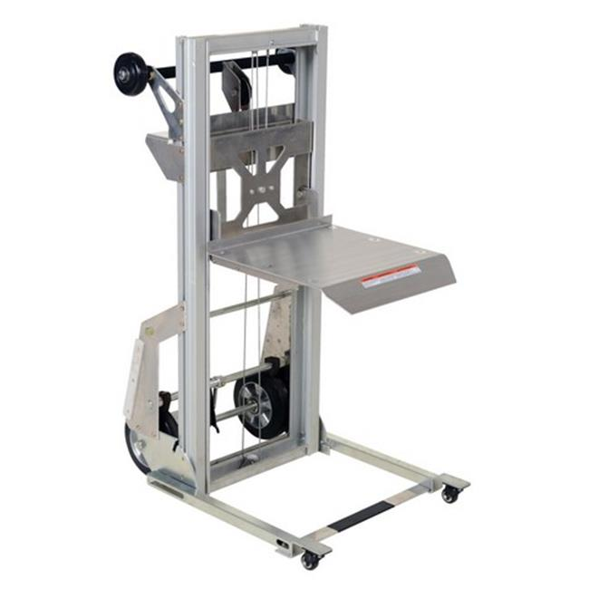vestil pall-200 portable aluminum load lifter, 200 lbs