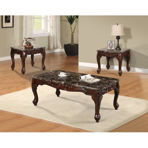 Astoria Grand Westerberg 3 Piece Coffee Table Set