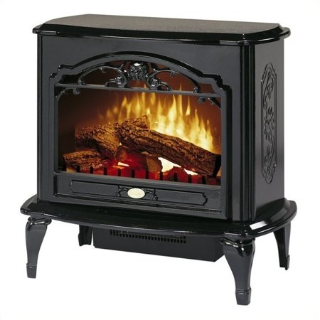 Bowery Hill Electric Fireplace Stove Heater in