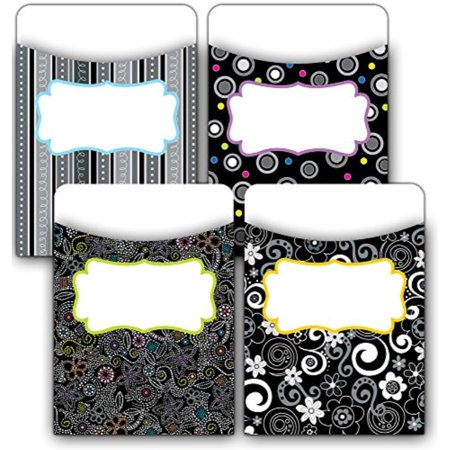 Creative Teaching Press BW Collection Jumbo Library Pockets (6782) - image 1 de 1