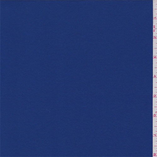 Sapphire Blue Lightweight Poly Suiting, Fabric By the Yard