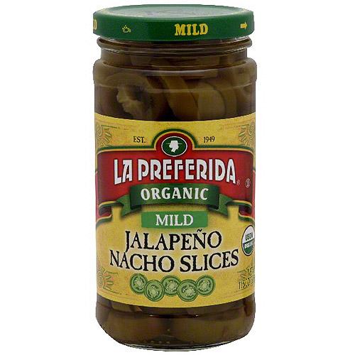 La Preferida Mild Jalapeno Nacho Slices, 11.5 oz (Pack of 12)