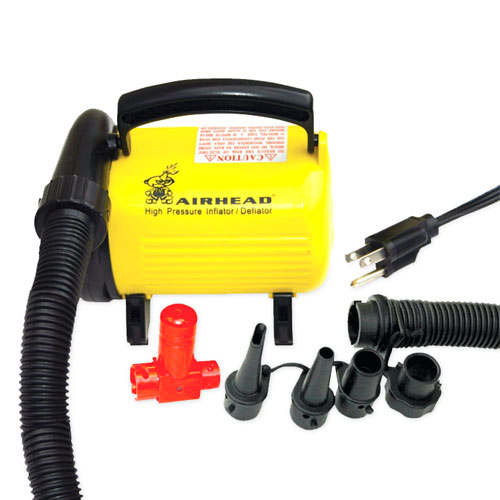 Airhead High Pressure 120V Air Pump Includes Pressure Release Valve by Kwik Tek