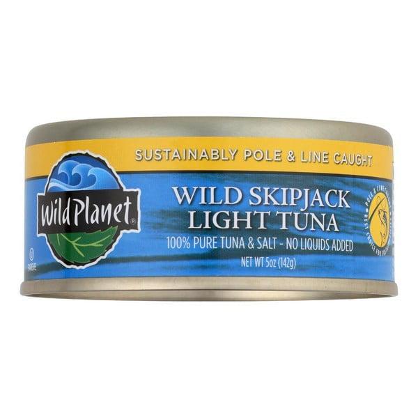 Wild Planet Wild Skipjack Light Tuna - pack of 12 - 5 Oz.