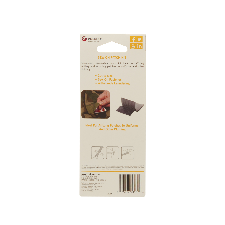 Velcro Sew On Patch Kit 4x12