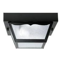 Capital Lighting  Black 1 Light Carport Fixture