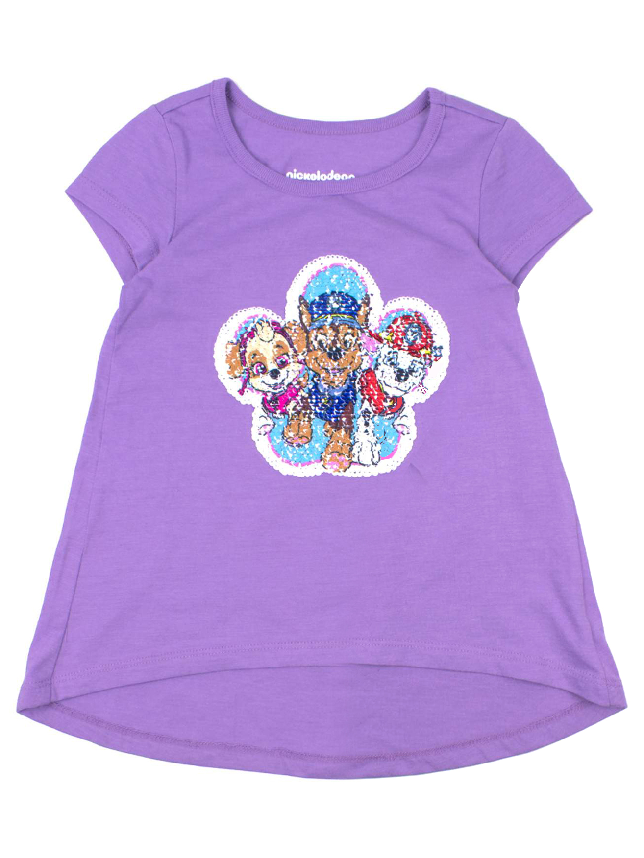 Pup Pals Reversible Flip Sequin T-Shirt (Little Girls & Big Girls)