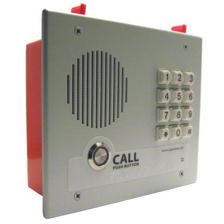 VoIP Intercom w/Keypad - Flush Mount